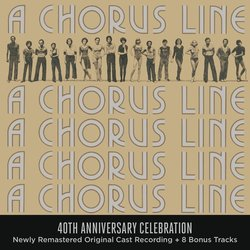 A Chorus Line: 40th Anniversary Celebration Soundtrack (Marvin Hamlisch, Edward Kleban) - CD-Cover