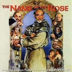 The Name of the Rose Soundtrack (James Horner) - Carátula