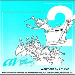 Variations On A Theme 1 Soundtrack (Dick Bakker, Toon Vieyra) - CD cover