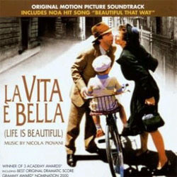 La Vita è Bella Soundtrack (Nicola Piovani) - CD cover