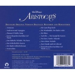 The AristoCats サウンドトラック (Various Artists, George Bruns) - CD裏表紙