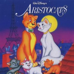 The AristoCats サウンドトラック (Various Artists, George Bruns) - CDカバー