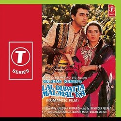 Lal Dupatta Malmal Ka Soundtrack (Various Artists, Anand Milind, Majrooh Sultanpuri) - CD-Cover