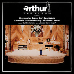 Arthur Soundtrack (Various Artists, Burt Bacharach) - CD-Cover