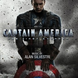 Captain America: The First Avenger Soundtrack (Alan Silvestri) - CD cover