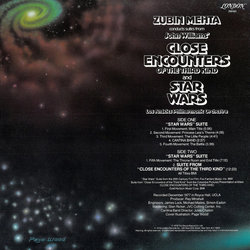 Suites From Star Wars And Close Encounters Of The Third Kind 聲帶 (Zubin Mehta, John Williams) - CD後蓋