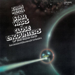 Suites From Star Wars And Close Encounters Of The Third Kind 聲帶 (Zubin Mehta, John Williams) - CD封面