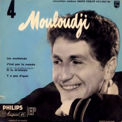 Mouloudji 4 Soundtrack (Mouloudji , Various Artists, Alex North, Georges Van Parys) - CD-Cover