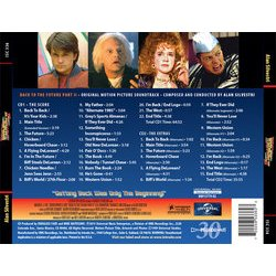 Back to the Future II Soundtrack (Alan Silvestri) - CD Achterzijde