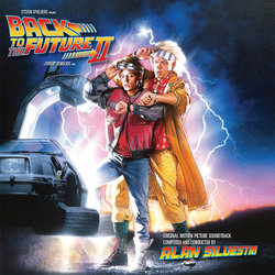 Back to the Future II Soundtrack (Alan Silvestri) - CD cover