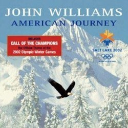 American Journey Colonna sonora (John Williams) - Copertina del CD
