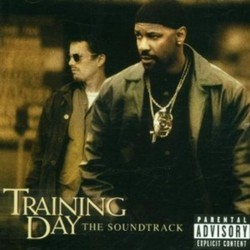 Training Day Soundtrack  (Various Artists, Mark Mancina) - CD cover
