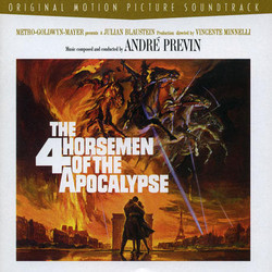 The 4 Horsemen of the Apocalypse 聲帶 (André Previn) - CD封面