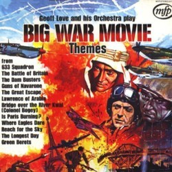 Big War Movie Themes Colonna sonora (Various Artists, Geoff Love) - Copertina del CD