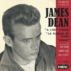 Les Airs des Films de James Dean 聲帶 (Various Artists, Dick Jacobs, Leonard Rosenman, Dimitri Tiomkin) - CD封面