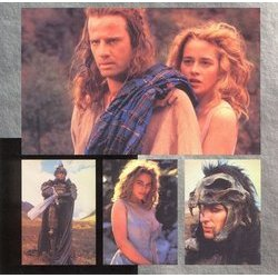 Highlander Soundtrack (Queen , Michael Kamen) - cd-inlay