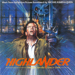 Highlander Soundtrack (Queen , Michael Kamen) - CD cover