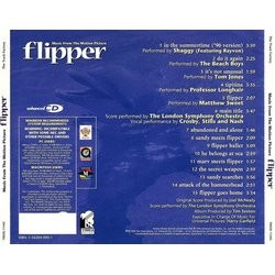 Flipper Soundtrack (Joel McNeely) - CD Achterzijde
