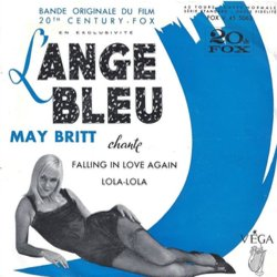 L'Ange Bleu Soundtrack (May Britt, Hugo Friedhofer) - CD-Cover