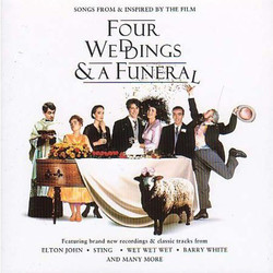 Four Weddings & A Funeral Soundtrack (Various Artists, Richard Rodney Bennett) - Car�tula