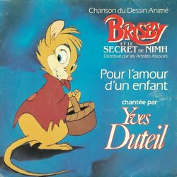 Brisby et le Secret de NIMH Soundtrack (Various Artists, Yves Duteil, Jerry Goldsmith) - CD cover