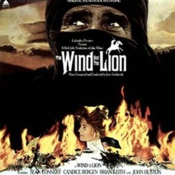 The Wind and the Lion Soundtrack (Jerry Goldsmith) - CD cover
