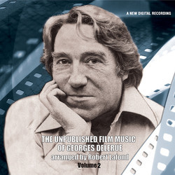 Unpublished Film Music of Georges Delerue Volume 2 Soundtrack (Georges Delerue) - CD cover