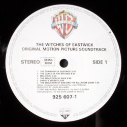 The Witches of Eastwick Soundtrack (John Williams) - cd-carátula