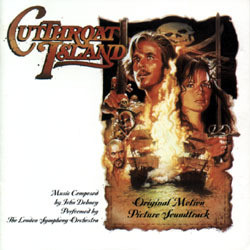 Cutthroat Island Soundtrack (John Debney) - CD cover