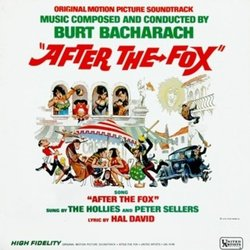 After the Fox Soundtrack (Burt Bacharach) - CD cover
