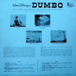 Dumbo Trilha sonora (Various Artists, Frank Churchill, Oliver Wallace) - CD capa traseira