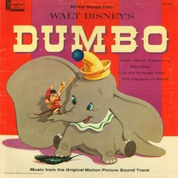 Dumbo Trilha sonora (Various Artists, Frank Churchill, Oliver Wallace) - capa de CD
