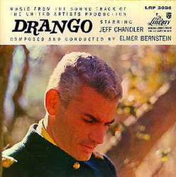 Drango Soundtrack  (Elmer Bernstein) - CD cover