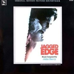 Jagged Edge Soundtrack (John Barry) - CD cover