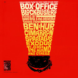Box-Office Blockbusters Soundtrack (Various Artists, David Rose) - CD cover