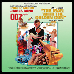 The Man With the Golden Gun Soundtrack (John Barry) - CD cover