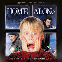 Home Alone 聲帶 (John Williams) - CD封面