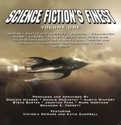 Science Fiction's Finest Volume One Soundtrack (Various Artists) - CD cover