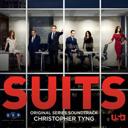 Suits Soundtrack (Christopher Tyng) - CD cover
