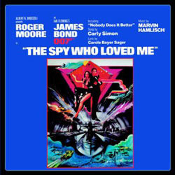 The Spy Who Loved Me Soundtrack (Marvin Hamlisch) - CD cover