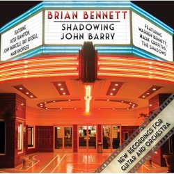 Shadowing John Barry Soundtrack (John Barry, Brian Bennett) - Carátula