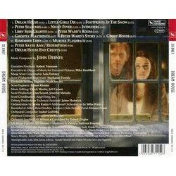 Dream House Soundtrack (John Debney) - CD Back cover