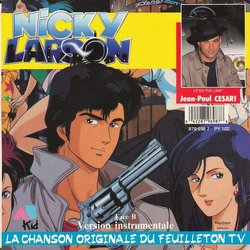 Nicky Larson 声带 (Various Artists, Jean-Paul Césari) - CD后盖