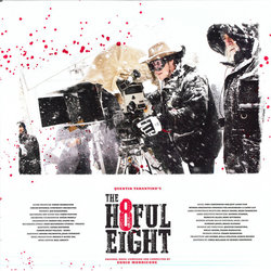 The Hateful Eight Soundtrack (Various Artists, Ennio Morricone) - cd-inlay