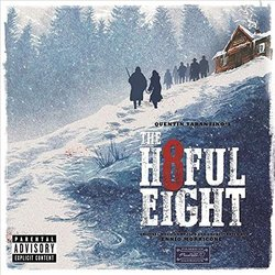 The Hateful Eight Soundtrack (Various Artists, Ennio Morricone) - CD cover