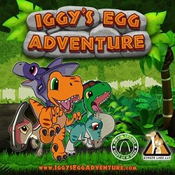 Iggy's Egg Adventure Soundtrack (Fat Bard) - CD-Cover