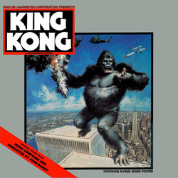 King Kong Soundtrack  (John Barry) - CD cover