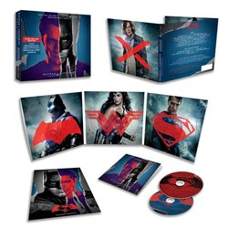 Batman v Superman: Dawn Of Justice Soundtrack ( Junkie XL, Hans Zimmer) - CD cover