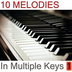 10 Melodies in Multiple Keys Volume 1 Soundtrack (Piano Lover) - CD cover