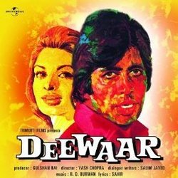 Deewaar 聲帶 (Various Artists, Rahul Dev Burman, Sahir Ludhianvi) - CD封面